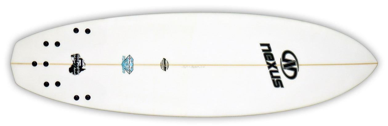 hybid-shortboard-surfboard-magic-diamond-bottom