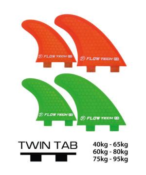 flowtech-fcs-quad-hexcore-surfboard-finnen